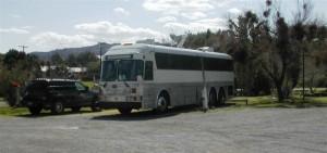 Bus at Shoshone (Medium)