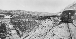White Pass Steel Cantilever Bridge (Medium)