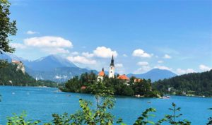 A view of Lake Bled (Medium)