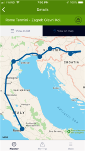 Our train route (Medium)