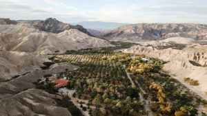 Arial View of China Ranch